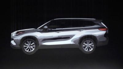 Toyota tease next-gen Kluger