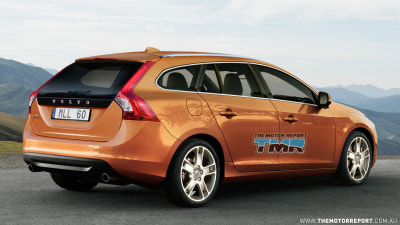 2011 Volvo V60 Previewed And Spied In Cold Weather Testing