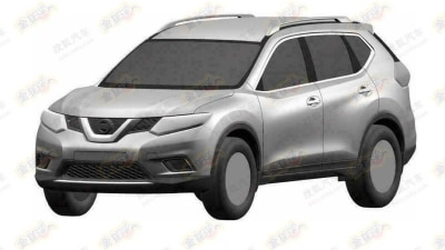 2014 Nissan X-Trail Previewed In New Patent Images: Report