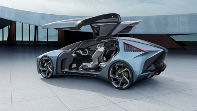 Lexus to show first EV next month, previews beyond with radical LF-30 concept