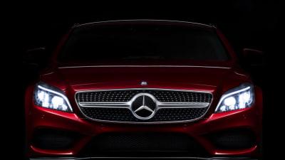 2015 Mercedes-Benz CLS Facelift Reveals Multi-Beam LED Headlights