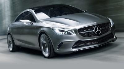 Mercedes CLA Destined For Detroit, CLA 45 AMG Focuses On Frankfurt