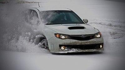 Photo Of The Day: Subaru WRX STI Hits The Snow