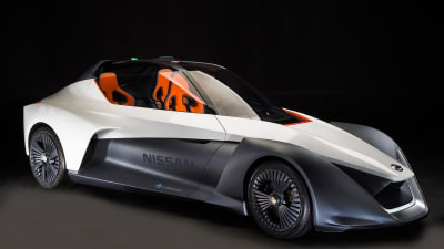 Zero Emissions Nissan BladeGlider Prototypes Make International Debut