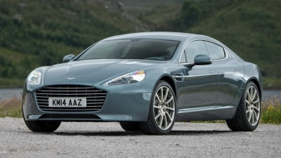 Aston Martin To Offer 600kW Electric Rapide