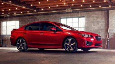 2017 Subaru Impreza Range Debuts At New York Auto Show