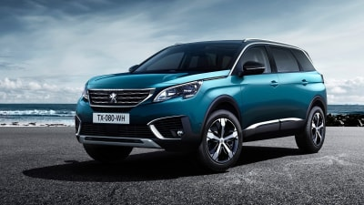 Peugeot Enters Large SUV Market With 7 Seat 5008