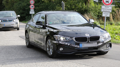 BMW 4 Series Gran Coupe Spied Testing