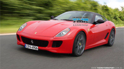 2011 Ferrari 599 GTO Preview Rendering And Spy Photos