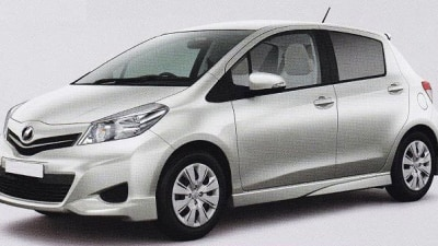 2012 Toyota Yaris Revealed In Leaked Images?