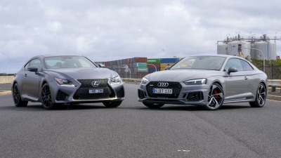 Audi RS5 v Lexus RC F head-to-head comparison review