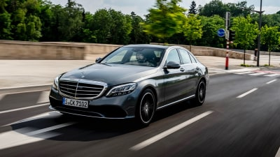Hybrid Mercedes-Benz C-Class arriving in August