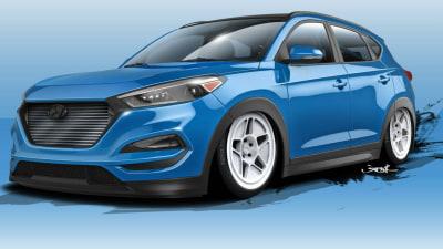 Hyundai Tucson Gets 500kW Bisimoto Makeover For SEMA