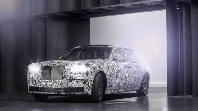 Rolls Royce Begins Testing Next Generation Aluminium Space Frame Architecture