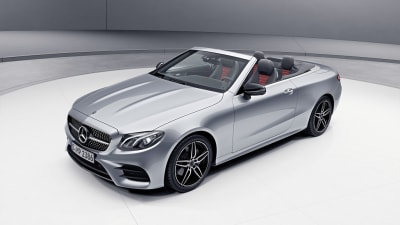 Mercedes reveals hybrid boost for E-Class