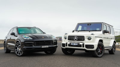 Head to Head: Porsche Cayenne Turbo v Mercedes-AMG G63
