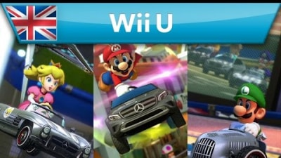 VIDEO: Mercedes Joins Mario Kart 8 Roster In New DLC Pack