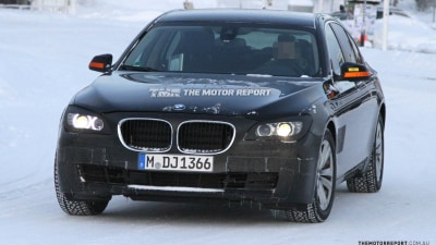 BMW 7 Series Facelift Due In 2013