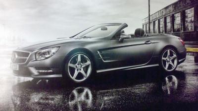 2012 Mercedes-Benz SL Revealed In Leaked Brochure Images