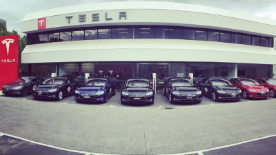 Tesla Superchargers Now In Gundagai – Sydney To Melbourne Complete