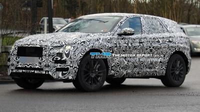 Jaguar F-Pace SUV spied Testing