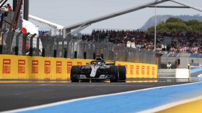 Motorsport: Hamilton wins in France