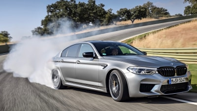 BMW M5 Competition 2018 preview drive