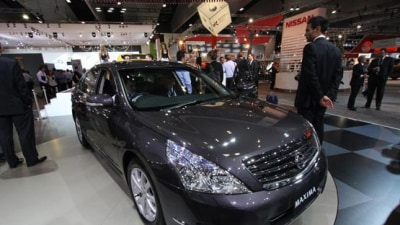 2009 Melbourne Motor Show: New Nissan Maxima Gets Aussie Debut