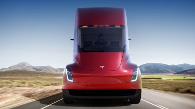 Tesla has revealed its electric truck