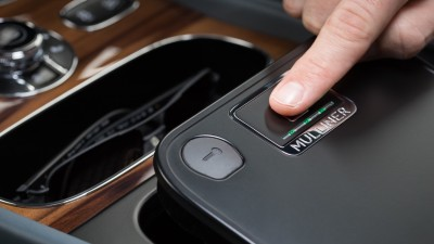 Bentley adds Mulliner fingerprint scanner