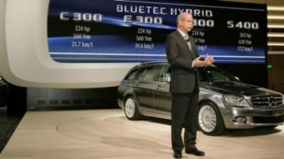Mercedes Benz Introduces Diesel Passenger Cars To Japan