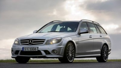 Mercedes-Benz C63 AMG Estate official release