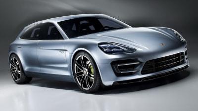 Porsche Panamera Sport Turismo Hybrid Concept Previews New Model
