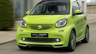 Smart Brabus Tailor Made ForTwo & ForFour Unveiled In Geneva