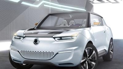 SsangYong e-XIV Range-Extended Hybrid Sparks Interest In Paris