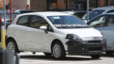 2010 Fiat Punto Facelift Spied