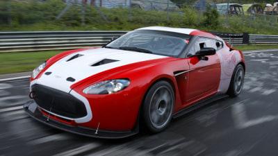 Aston Martin V12 Zagato Ready For Racing