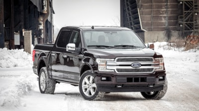 Ford Presents Updated F-150 At Detroit, Including First-Ever Diesel Engine