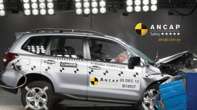 ANCAP Crash Test Demonstration: The Future Of Five Stars