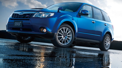 2011 Subaru Forester S-Edition Previewed By Forester tS In Japan?