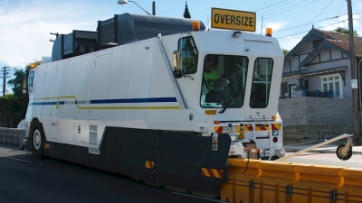 How road zippers are busting congestion in Sydney