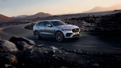 Jaguar F-Pace SVR revealed