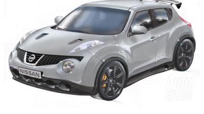 Nissan Europe Developing GT-R Powered Super Juke Concept