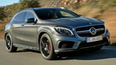 Mercedes-Benz GLA45 AMG first drive review