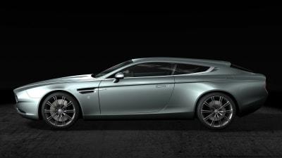 Zagato Reveals One-off Aston Martin Virage Shooting Brake