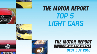 TMR Best Buy 2016 - Top 5 Light Cars, Volkswagen Polo, Skoda Fabia, Mazda2, Suzuki Swift, Toyota Yaris
