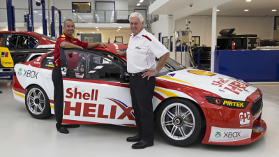 Marcos Ambrose's New Shell-sponsored V8 Supercar Revealed