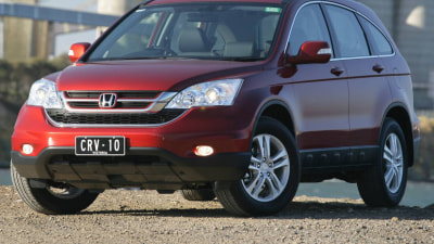 Honda CR-V Luxury Review