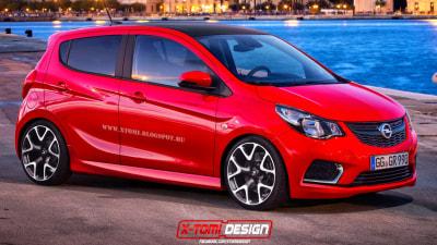 Opel Karl OPC Hot Hatch Rendered