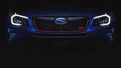 Subaru Forester STI Teased